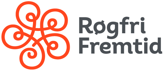 Røgfri fremtid logo sort transparent